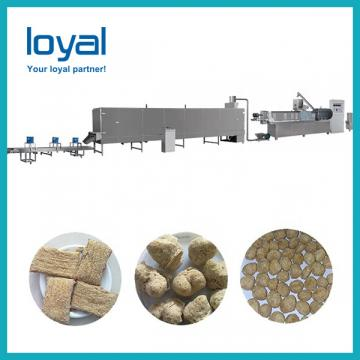 Soy Texture Machine Wheat Protein Processing Line TVP Tsp Soy Protein Extruder