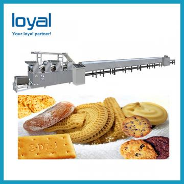 Nuts Filled Biscuit Bakery Production Line , Biscuits Making Machine