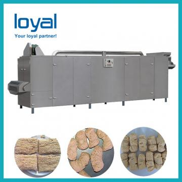 TVP TSP Texture Soya Protein Chunks Processing Line