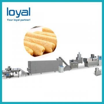 Turnkey Puffed Snack Food Project Production Line Equipment
