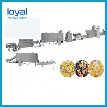 Low Consumption Corn Flakes Machine Flake Processing Line