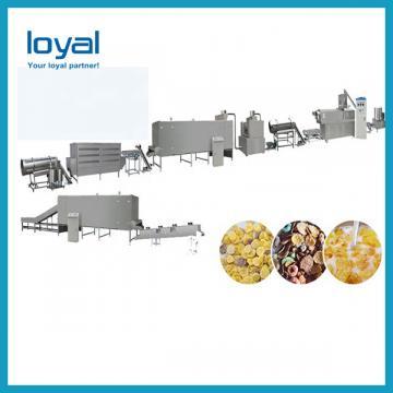 Sweet Corn Puffs Cereals Sticks Snacks Cheese Ball Making Machine Breakfast Cereals Corn Flakes Twin Screw Extruder Machine