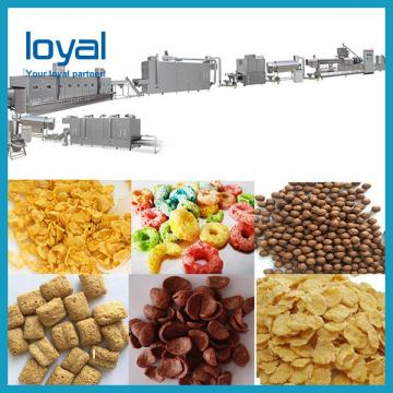 Fast Food Nutritional Corn Flakes Production Line , Small Corn Flakes Machine