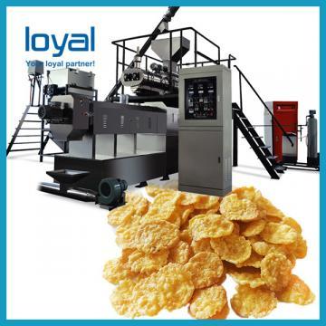 Economical Cereals Corn Flakes Machine / Rice Flakes Making Machine