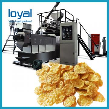 Economical Cereals Corn Flakes Machine / Rice Flakes Making Machine