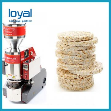 Automatic Rice Cake Making Machine Crispy Rice Cake Cracker Making Machine