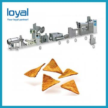 Twist snack potato pellets making machine/potato chips/corn sncak food processing extruder