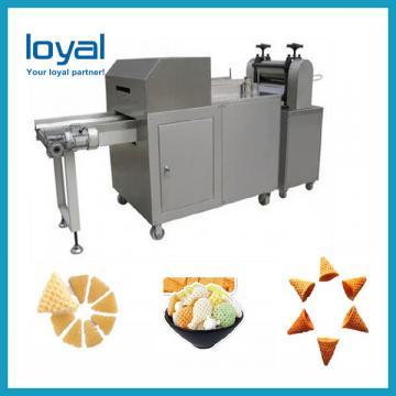 Automatic crispy potato chips potato pellet chips fryer machine