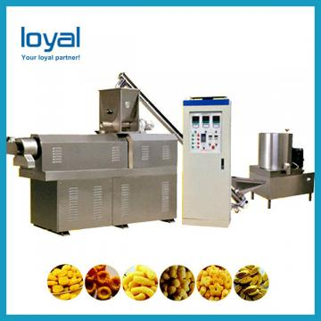 Peanuts/potato chips/bugle chips/fried snack pellets double rollers flavoring machine